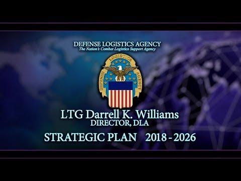 DLA Director LTG Darrell K Williams, 2018 to 2026 DLA Strategic Plan