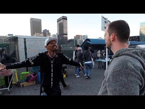 Tempers flare in Cape Town when hearing Jesus