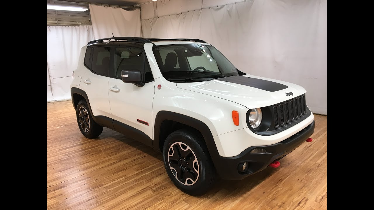 2016 Jeep Renegade Trailhawk Navigation Moonroof Rear Camera Carvision Youtube