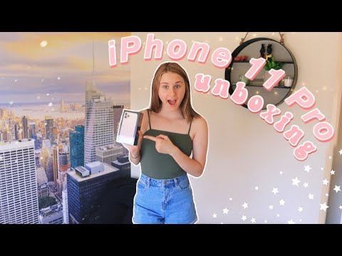 IPhone 11 Pro UNBOXING | Setting It Up + Camera Test! 📷