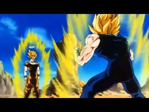Skrillex First Of The Year  Vegeta VS Goku Dragon ball z