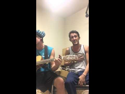 Kane Brown - last minute late night cover by chris and josh !
