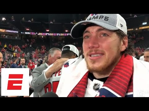 Stanley Cup winner T.J. Oshie on dad who has Alzheimer's: This is one memory he won't forget | ESPN