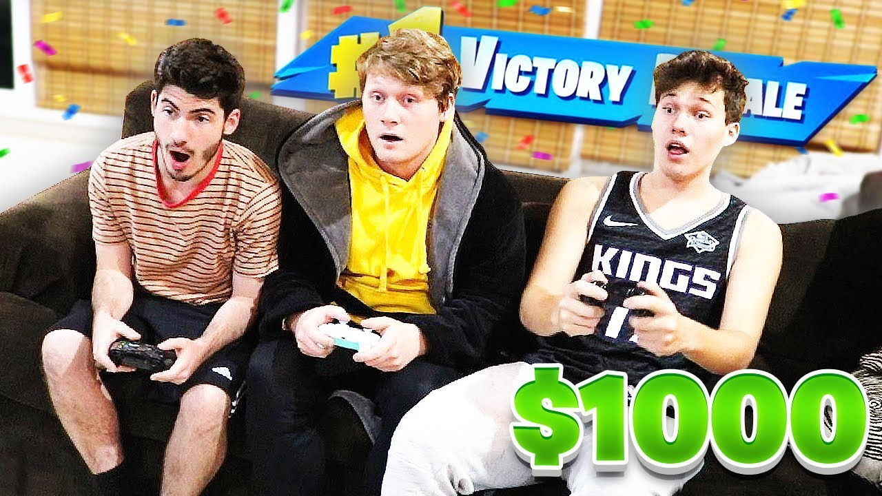 Download Whoever Gets The Most KILLS Gets $1000 - Fortnite