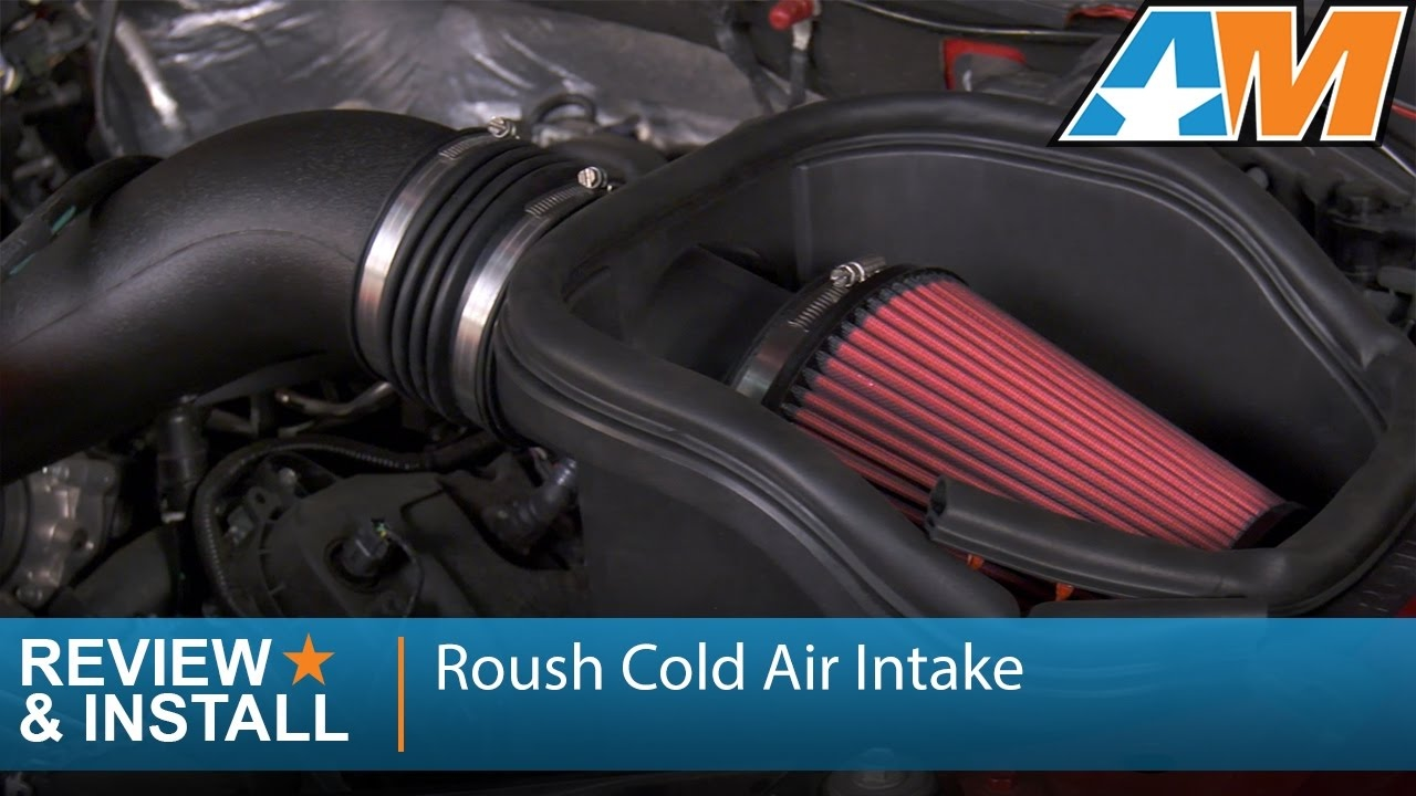 F150 5 0l Roush Cold Air Intake Review Install 2015 2017 Youtube