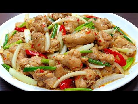 #ไก่ผัดหอม ผัดอย่างไรให้ไก่นุ่มเด้ง น่าทาน เมนูง่ายๆเเต่หอมอร่อย ราดข้าวร้อนๆ ต้องเบิ้ลเเน่นอน