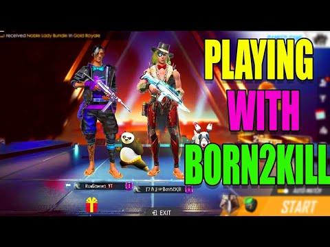 Bron To Kill Vs RunOutArun In Free Fire|| Born To Kill Best Match Reaction|| Run Gaming Tamil