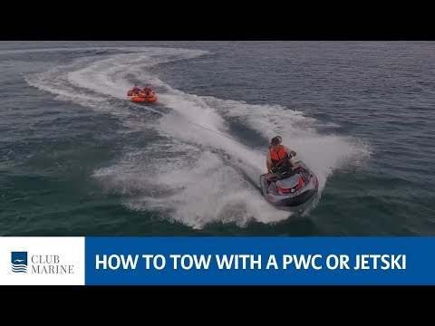 How to tow with a PWC or jetski