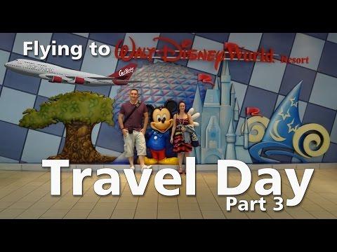 Walt Disney World For The First Time   Travel Day & Disney's Caribbean Beach Resort   PT3