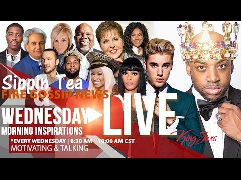 LIVE!! 🔥 7/26/17 Wednesday Morning Inspiration-Carl Lentz, TD Jakes, Paula White, Juanita Bynum,