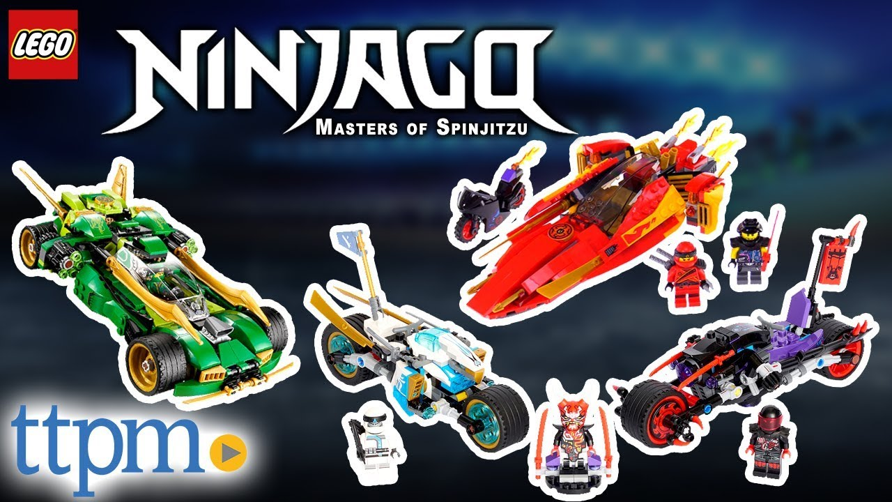 ff1c10fbd88b4 LEGO Ninjago Ninja Nightcrawler, Street Race of Snake Jaguar, Katana V11 -  Review & Instructions