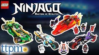 LEGO Ninjago Ninja Nightcrawler, Street Race of Snake Jaguar, Katana V11 - Review & Instructions