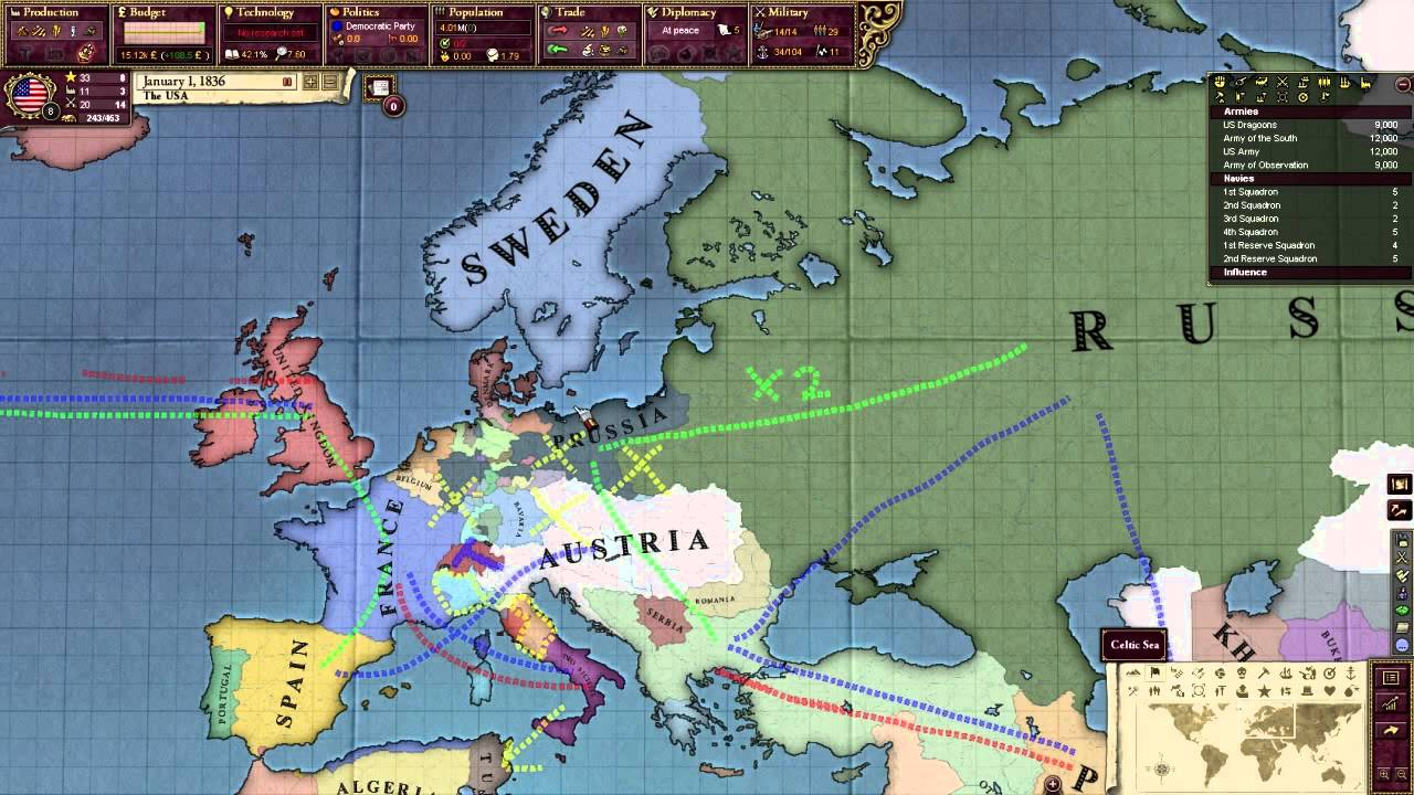Victoria 2 Multiplayer Concert Of Europe The War Room 16