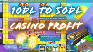 How to get 50dls İn 10 Minutes in casino!? (WINNING TONS OF DLS IN CASINO)!!