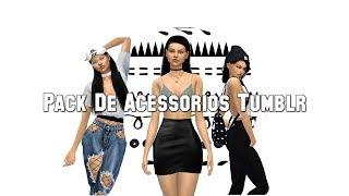 PACK de acessorios TUMBLR   The Sims 4   ClassySimplicity