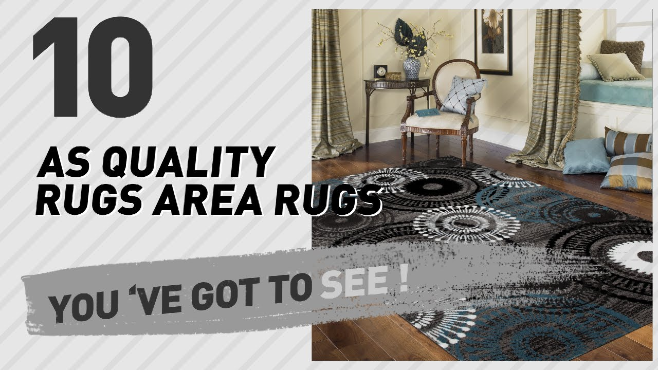 As Quality Rugs Area Rugs // Top 10 Best Sellers