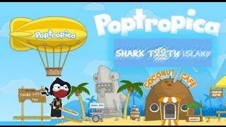Poptropica Shark Tooth Island Walkthrough | by LoudSeal the Booga Shark Slayer