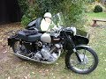 Panther and sidecar Sunday Run