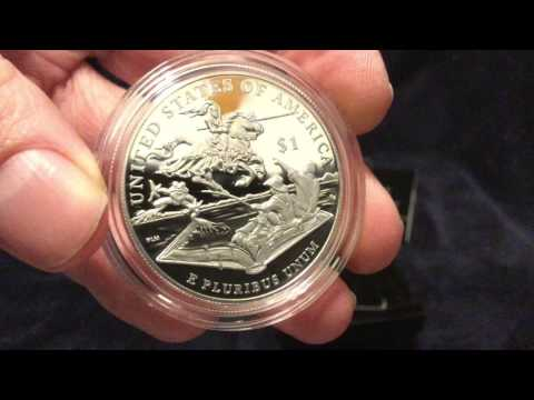 Silver Unboxing: Mark Twain Silver Dollar & 2015 Silver Proof Set