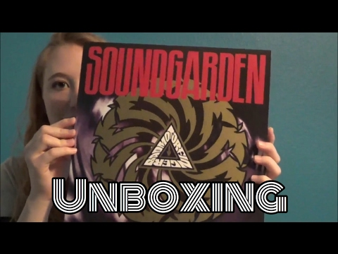 Soundgarden Badmotorfinger Vinyl Unboxing
