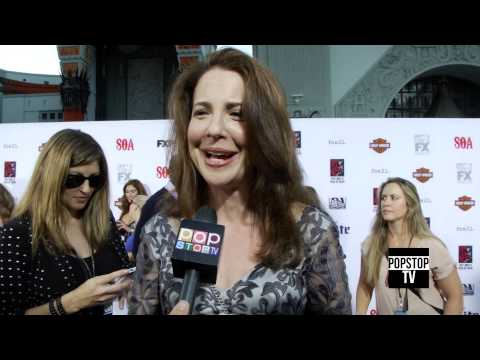 Robin Weigert Talks about being a Lawyer on SOA!
