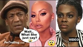 Look What Amber Rose Wishes on Bill Cosby to make Jess Hilarious CHECK her ????