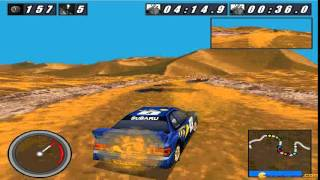 International Rally Championship gameplay (PC Game, 1997)