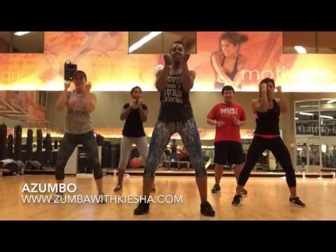 """""""Azumbo"""" (Mega Mix 49) by Krys feat. DJ Lewis - ZUMBA with Kiesha"""