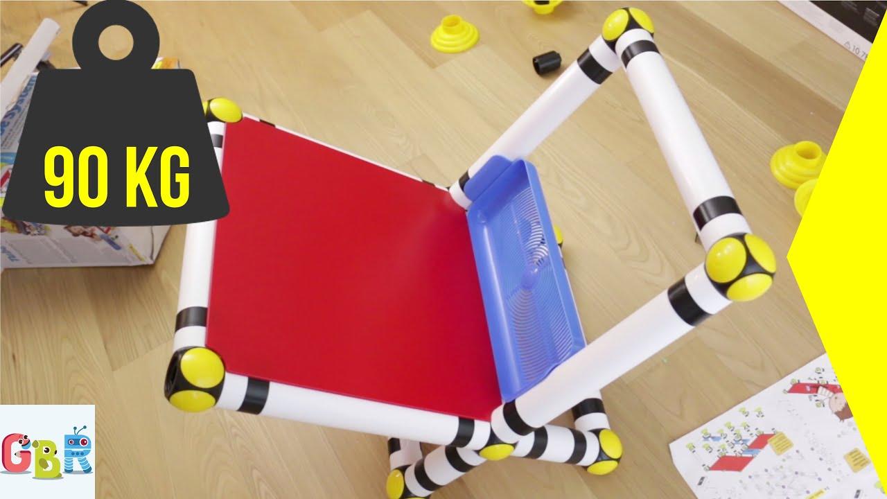 tavolini se e scrivanie per bambini da costruire con tube system youtube with se per scrivania ragazzi