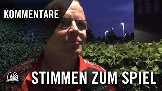 Carsten Kerkhoff (Rheinsüd Köln) und Konrad Carnetzki (Glesch-Paffendorf) - Stimmen| RHEINKICK.TV