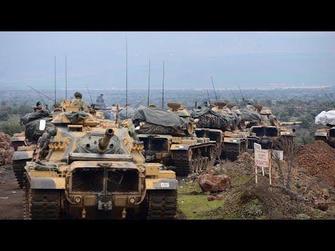 Confrontos entre exército turco e rebeldes curdos na Operação