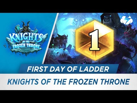 The First Day of the Knights of the Frozen Throne Meta [Hearthstone]