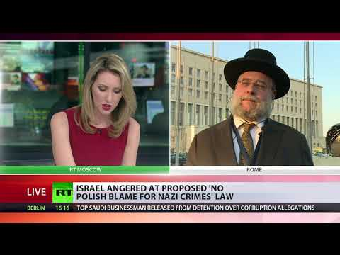 'One cannot change history': Israel outraged at proposed 'No Polish blame for Nazi crimes' law