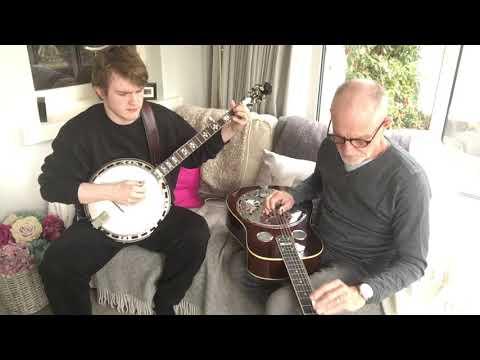 "Bela Fleck's ""Another Morning"" - James Henry (Banjo) and Colin Henry (Dobro)"