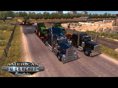 American Truck Simulator Day 24 | Multiplayer With RandomVlogger 579 | Who Ordered So Many Tractors?