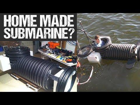 Homemade Submarine = BAD IDEA