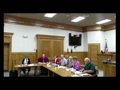 Dickinson County Board of Commissioners Special Meeting Oct 7, 2016