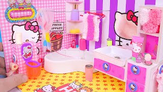 DIY Miniature Hello Kitty Bathroom thumbnail