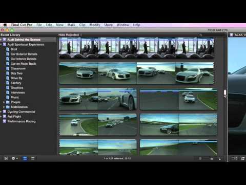 FinalCut Pro X Overview (HD 720P)