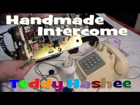 Handmade Intercom Using Vintage Phones and Buzzer DIY