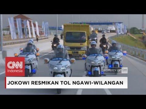 Aksi Presiden Jokowi Naik Truk Coba Tol Ngawi - Kertosono Mp3
