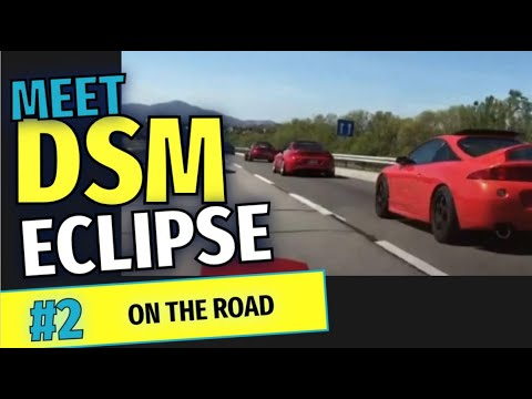 """Download 🔥🔥#3️⃣ DSM Mitsubishi ECLIPSE 2G MEET BIGGEST Spain. """"ON THE ROAD"""" Chapter 2 🏔️🏔️"""