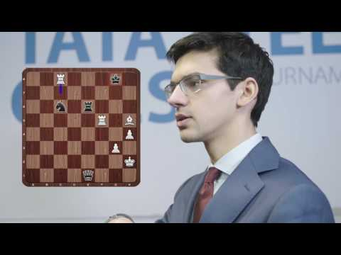 Anish Giri on Magnus Carlsen missing mate in 3 - Tata Steel Chess 2017