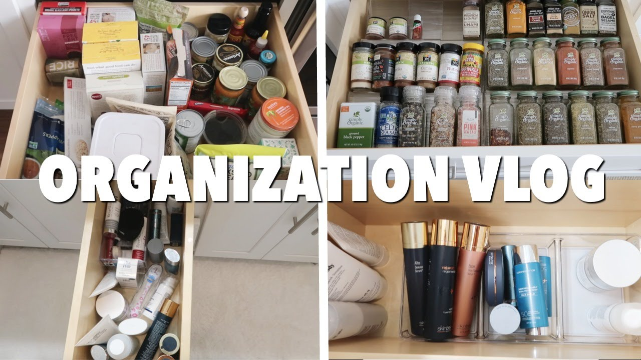 VLOG: spend the day w/ me - organizing my apartment/closet (SO SATISFYING)