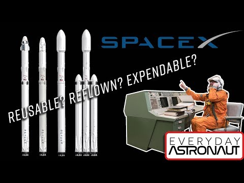 Beginners Guide to SpaceX (Part 2) Reusable, reflown, expendable, countdown & radio callouts