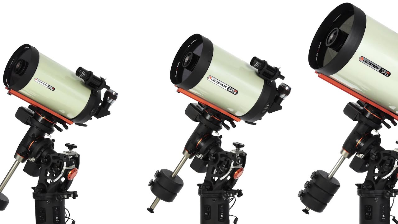 Celestron Cge Pro Hd Telescope Product Overview Youtube