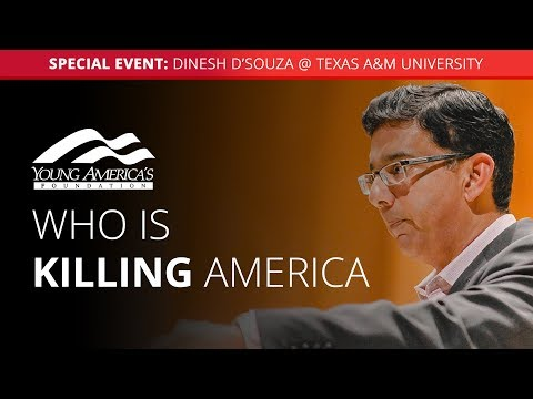 Dinesh D'Souza LIVE at Texas A&M