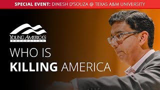 Dinesh D'Souza LIVE at Texas A&M