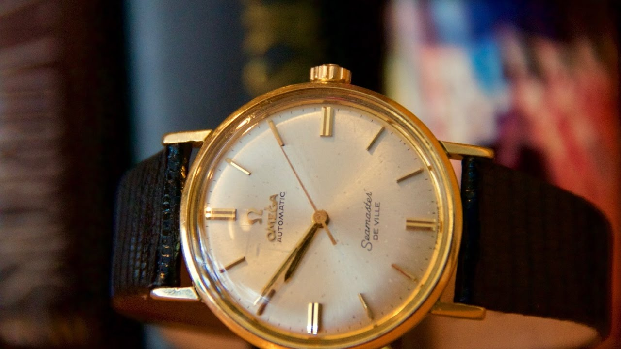 Affordable Vintage Omega Seamaster Deville Youtube
