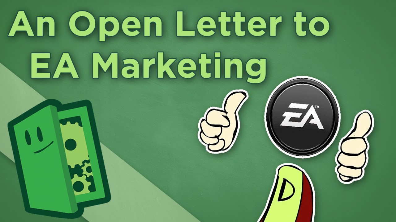 An Open Letter To Ea Marketing